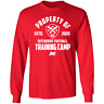 Men's DC DEFENDERS Training Camp 2 XFL Football 2020 Red T-shirt M-3XL