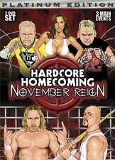 Hardcore Homecoming 2 - November Reign (DVD, 2006) Steel Cage Match, Taipei ....