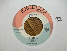 SLIM HARPO Tip On In Parts 1 & 2 EXCELLO 2285 - NM VINYL - NICE!