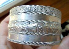 bracelet  en  ARGENT 95 gr ancien poincons, Maroc sud spain? maghreb? a definir