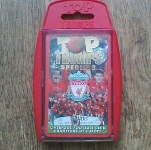 TOP TRUMPS - SPECIALS - Liverpool Football - Champions of Europe 2005