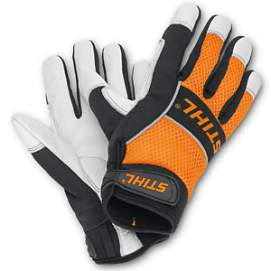 STIHL LARGE ERGO FORESTRY PROTECTIVE SAFETY GLOVES 0088 611 0211 RRP £25