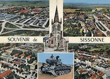 SISSONNE LOT 2 Cartes dont vues aériennes et tank