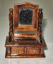 VINTAGE HONEY PINE VALET DOLLHOUSE FURNITURE MINIATURES