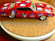 Coca Cola Die Cast Metal 1970 Ford Torino Muscle Car Red Polar Bear  00006000