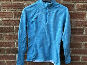 The North Face Women's Sports Running Gym Blue Top - Size Small/Petite