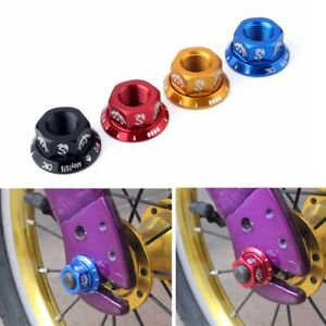4Pcs M10 Durable Track Wheel Nuts Bicycle BMX Fixie Axle Screw for Rear Hub