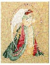 """COMPLETE CROSS STITCH MATERIALS - """"GUARDIAN ANGEL"""" BY Lavender and Lace"""