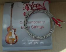 2 SETS of HOFNER SHORT SCALE BASS STRINGS VIOLIN ROUND WOUND FOR BEATLE & CLUB