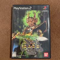 PS2 Golden Knight Fang Wolf Garo Playstation 2 Bandai Software Japan Import