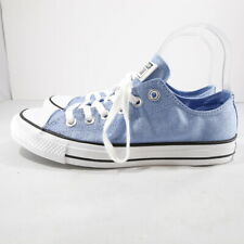 Converse CTAS OX Light Blue Shimmer/White Low Top Sneakers - 7.5/EUR 38. NWOB!