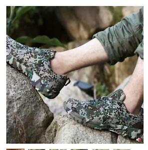 Men's Breathable Lace up Running Outdoor Hiking Camouflage Casual Sports Shoes