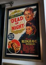 Rare Original Australian One Sheet Dead Of Night Poster Ealing Studios 1945