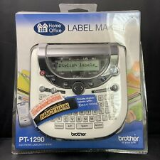 New Sealed Brother P Touch PT-1290 Home & Electronics Labeler Label Maker Tape