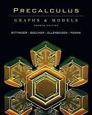 Precalculus: Graphs and Models (4th Edition), Marvin L. Bittinger, Judith A. Bee