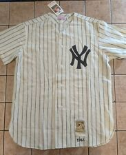Bill Moose Skowrun New York Yankees Mitchell & Ness 1961 Home Jersey NWT UD 48