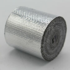 Self Adhesive Aluminum Reflective Heat Shield 50mm x10m Tape Wrapping Wrap