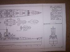 USS CLEVELAND ship boat model boat plans