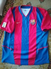 Maglia Shirt Camiseta Trikot Calcio Football BARCELLONA maillot no match worn