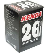 """Kenda 26 x 2.75-3.0"""" Schrader Valve Mountain Bike Inner Tube SV 26"""" 3"""""""