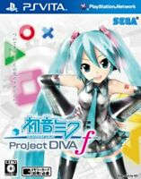 UsedGame PS Vita SEGA Hatsune MIKU Project DIVA F from Japan