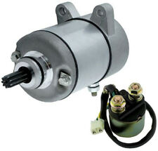 New Starter with Relay Solenoid fits Honda TRX 350 Fourtrax Rancher, 2000-2006 +