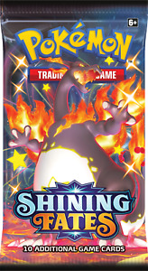 1 X POKEMON TCG SHINING FATES BOOSTER PACK  *IN HAND SAME DAY DISPATCH*