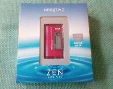 Creative Zen Nano Plus 512MB reproductor de MP3 completamente nuevo y sin abrir-Rara Rojo