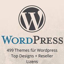 499 Exklusive Wordpress Theme Grafik Layout Template Thema MRR NEU