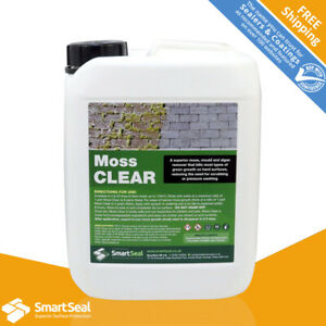 Roof Moss Killer, Powerful Concentrate, Removes Moss Effectively (5 Litres)