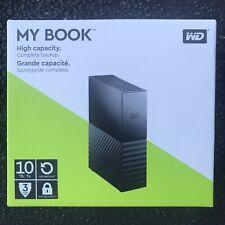 WD My Book 10TB External Hard Drive WDBBGB0100HBK