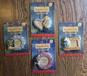 Disney Pocahontas (Native American Indian) Vintage 1995 Picture Frame Magnet