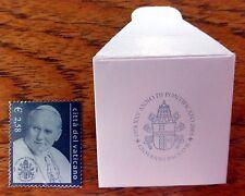 VATICAN 2003 Silver Pope Stamp in Special Envelope U/M FP9586