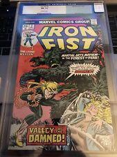 Iron Fist # 2 - 12/75 CGC 9.2 John Byrne Art {CGCB2}