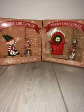 Christmas fairy doors and Elf wish jars
