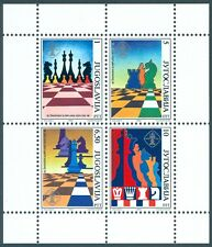 Jugoslawien Block 38 Schach Olympiade '90 **