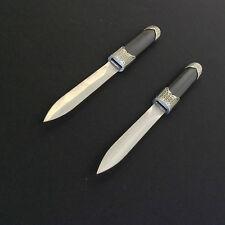 Black Double Daggers/Knives