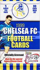 1999 Futera Chelsea FC Football Soccer Factory Pack Aussie SELLER WOW