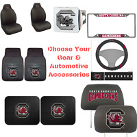 NCAA South Carolina Gamecocks Pick Your Gear Auto Accessories Official Licensed