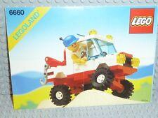 LEGO® Town Classic Bauanleitung 6660 Hook Haul Wracker ungelocht BA Anleitung