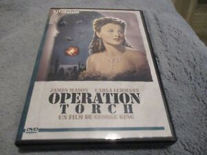 "DVD ""OPERATION TORCH"" James MASON, Carla LEHMANN / George KING - guerre"