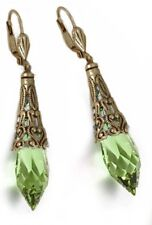 Sweet Romance Gothic Crystal Prism Earrings