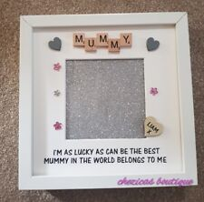 EASTER/MOTHER'S DAY GIFT -Personalised Photo Picture Frame - Mum/Nan Mothers day
