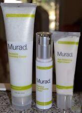 **Murad Resurgence 90 Day Kit Renewing Cleanser Age Serum Night Cream