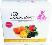 Bumebime Mask Natural Skin Soap Body Fast Whitening Thai Original Authentic 100g