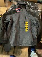 NWT MENS $120 ZeroXposur Midweight Winter Hooded Jacket Coat Medium Grey/BLK New