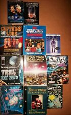 Huge lot Star Trek TNG Companion Scriptbooks Q Chronicles Van Hise Physic 11 lot