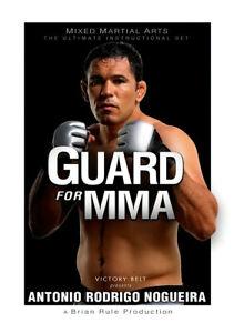 Antonio Rodrigo Nogueira MMA 3 DVD INSTRUCTIONAL SET BJJ UFC JIU-JITSU