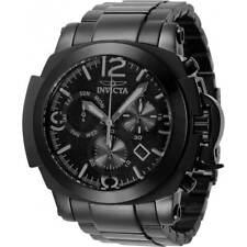 Invicta Men's Watch Coalition Forces Chronograph Black Dial SS Bracelet 34193