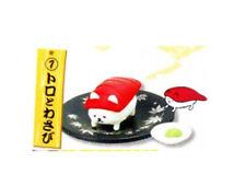 Sushi-nyan Sushi Cat Tuna Toro w/Wasabi Capsule Toy 4cm 4905040612830 US Seller